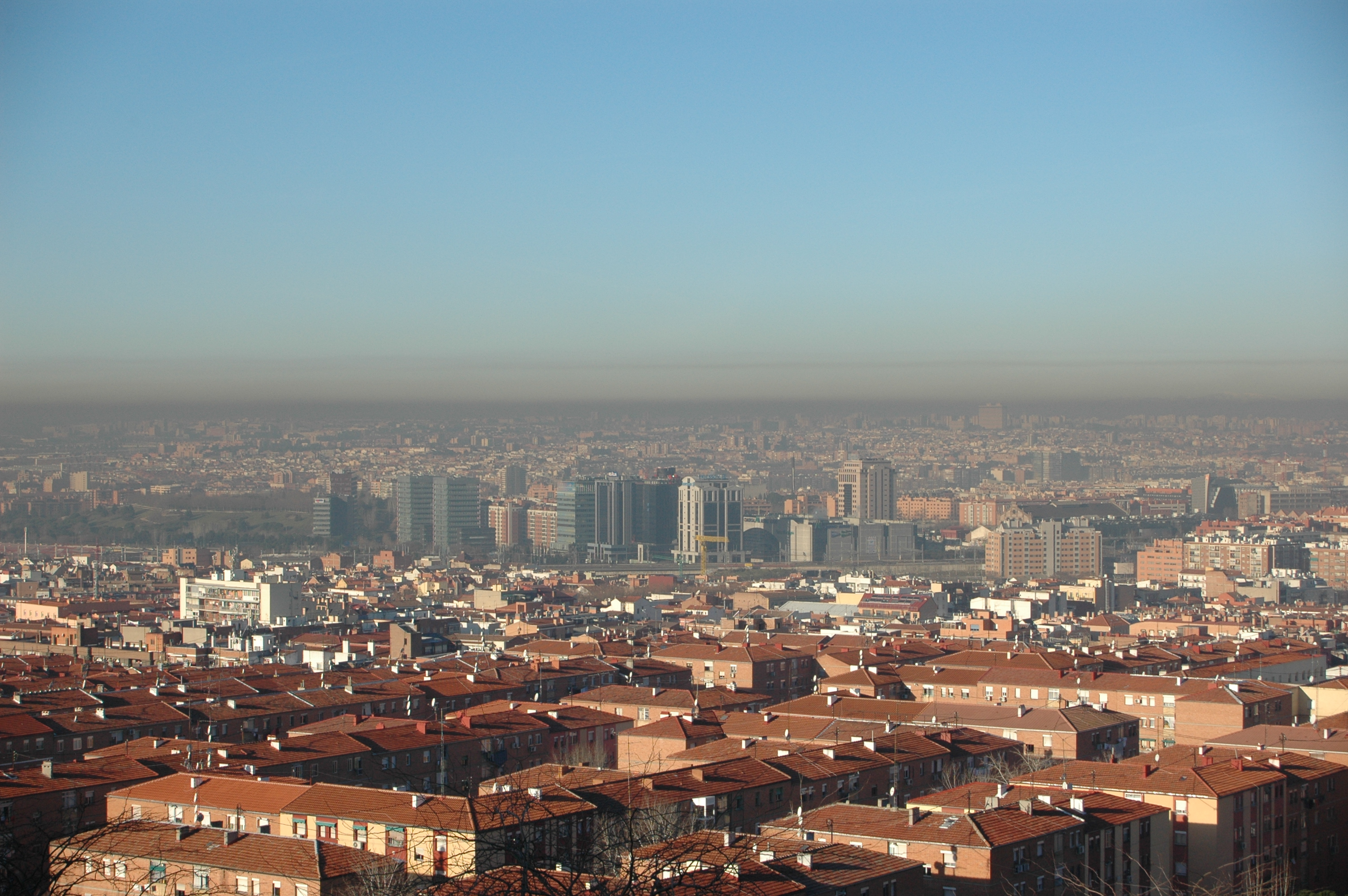 El bonito cielo de madrid desde vallecas monteigueldo 39 s blog - El cielo de madrid ...