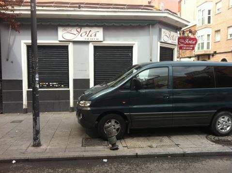 ¿Problemas de aparcamiento? Yo, nunca