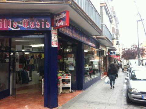 Oasis, amplia tienda de segunda mano