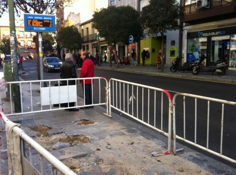 La parada de los autobuses de Monte Igueldo ha desaparecido