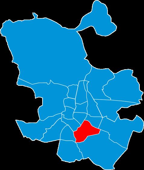 Mapa electoral de Madrid en 2011